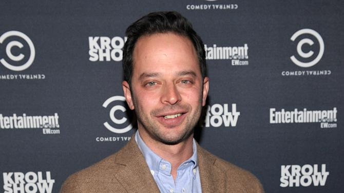 "IMAGE DISTRIBUTED FOR ENTERTAINMENT WEEKLY - Actor/comedian Nick Kroll attends an exclusive screening of Comedy Central's ""Kroll Show"" hosted by Entertainment Weekly on Tuesday, January 15, 2013 at LA's Silent Movie Theatre in Los Angeles. (Photo by John Shearer/Invision for Entertainment Weekly/AP Images)"