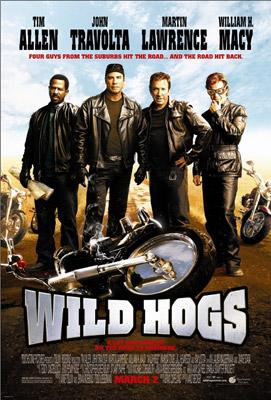 Martin Lawrence , John Travolta , Tim Allen and William H. Macy star in Touchstone Pictures' Wild Hogs