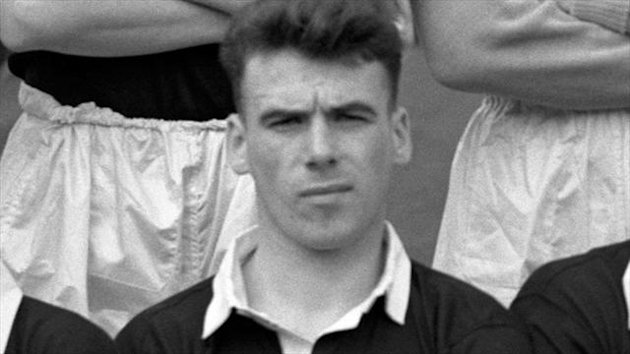 Lawrie Reilly was capped 38 times for Scotland and scored five goals against England