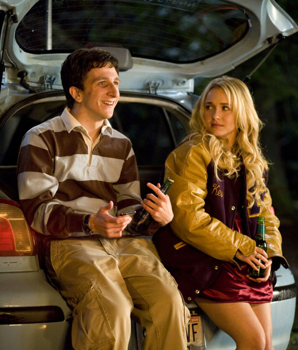 Paul Rust Hayden Panettiere I Love You, Beth Cooper Production Stills 20th Century Fox 2009