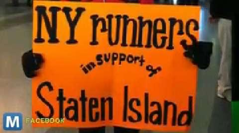 New York Runners Organize Door to Door Run to Deliver Relief