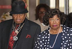 Joe Jackson and Katherine Jackson | Photo Credits: Frederick M. Brown/Getty Images