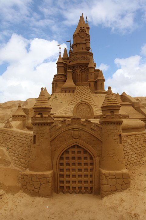 Blankenberge Sand Sculpture Festival 2011
