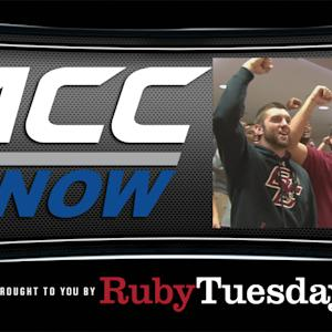 Boston College Football Team Sings Fight Song | ACC Now