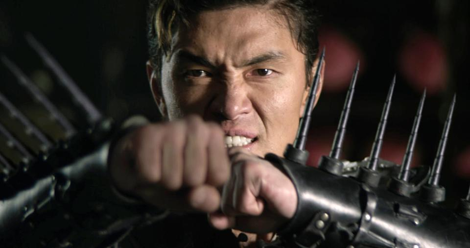 "This image released by Universal Pictures shows Rick Yune in a scene from ""The Man With the Iron Fists.""  (AP Photo/Universal Pictures)"