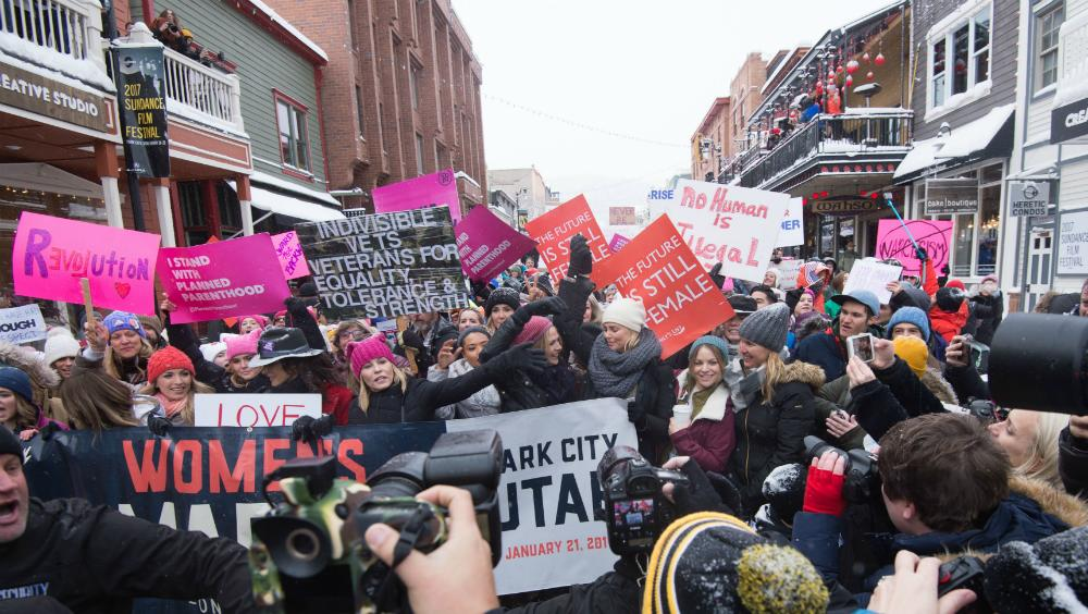 Facebook Live at Sundance Women's March (Watch Now!)
