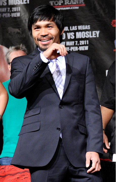 Manny Pacquiao Pacquaioy Mosely Final News Conference