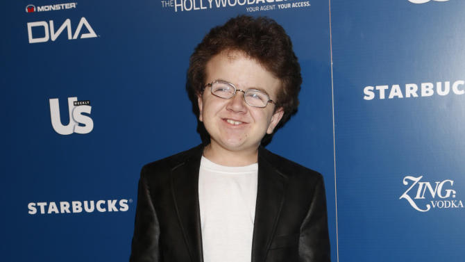 Keenan Cahill attends the US Weekly AMA After Party for The Wanted at Lure on Sunday November 19, 2012 in Los Angeles, California.  (Photo by Todd Williamson/Invision/AP Images)