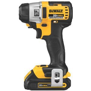 DeWalt DCF895C2 20-volt Max Lithium Ion Brushless 3-Speed 1/4-inch Impact Driver