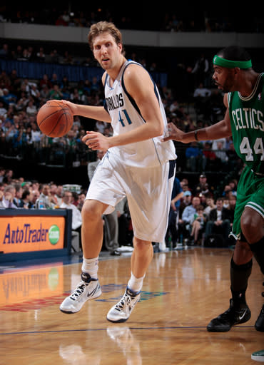 Nowitzki's 26 help lead Mavs over Celtics, 89-73
