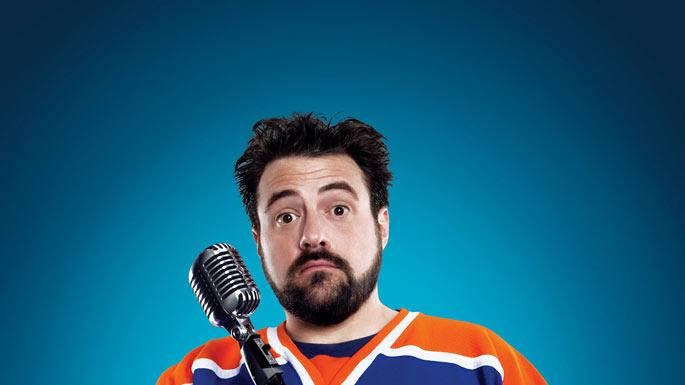 "Kevin Smith in ""Comic Book Men,"" which premieres this Sunday at 10pm on AMC."