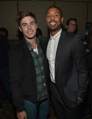Zac Efron and Michael B. Jordan -- Getty Images
