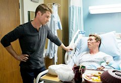 Benjamin McKenzie and Shawn Hatosy | Photo Credits: Doug Hyun/TNT