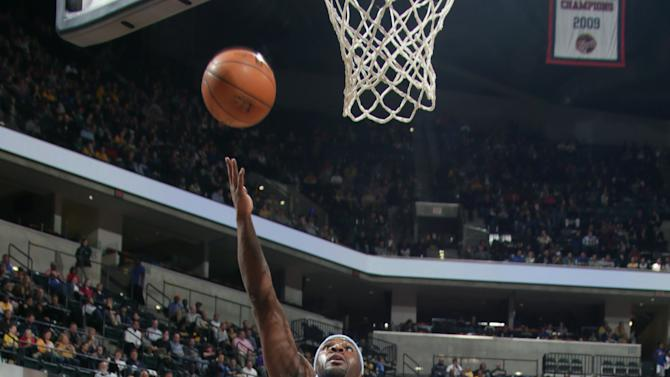 Balanced Nuggets rout Pacers 108-87