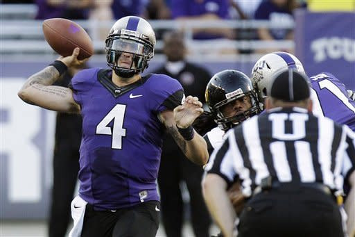 No. 20 TCU opens Big 12 era: 56-0 over Grambling