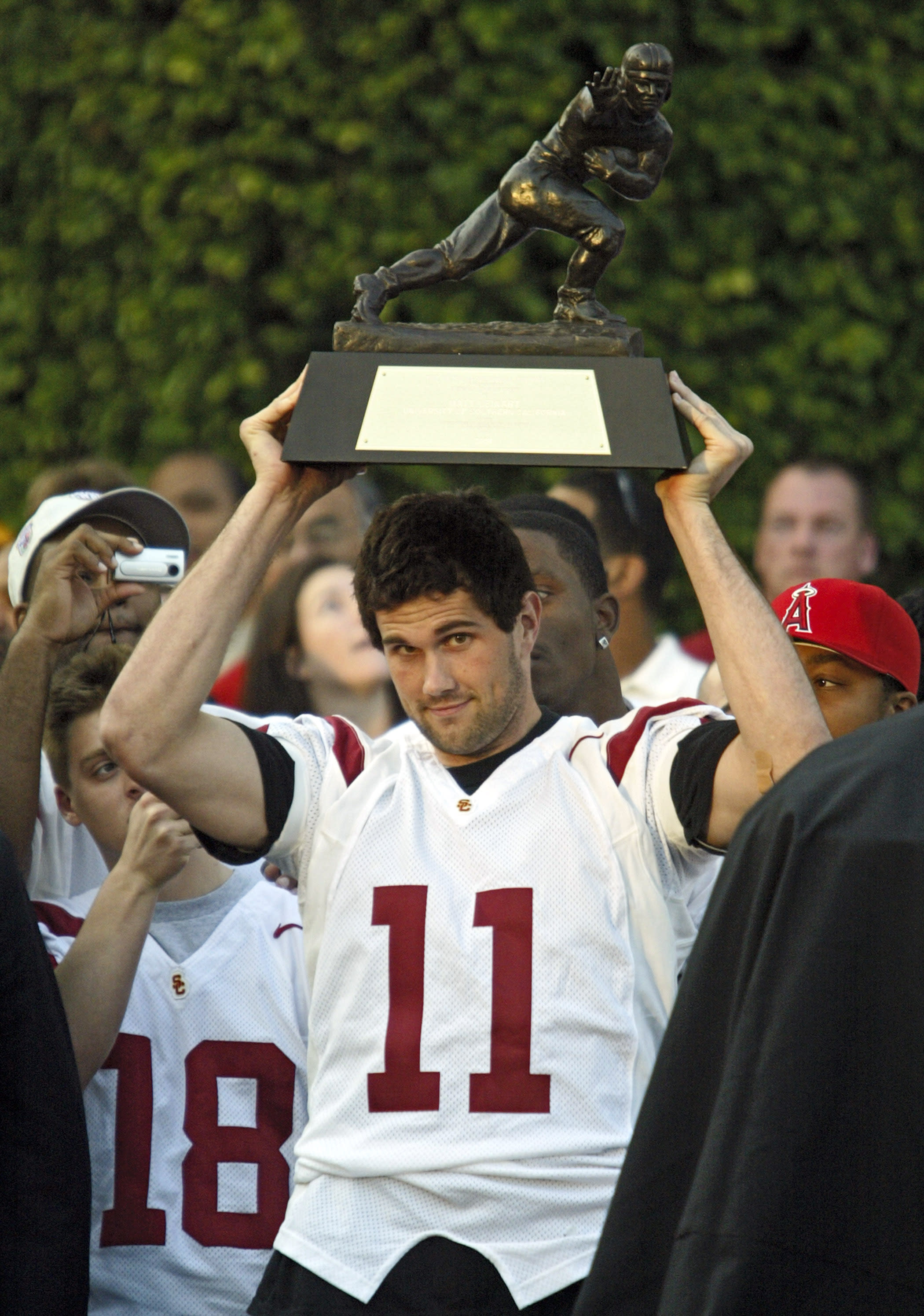 Leinart among 1st-timers on College Hall of Fame ballot