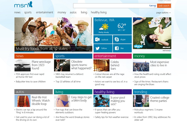 Microsoft to Launch Own News Operation Oct. 26