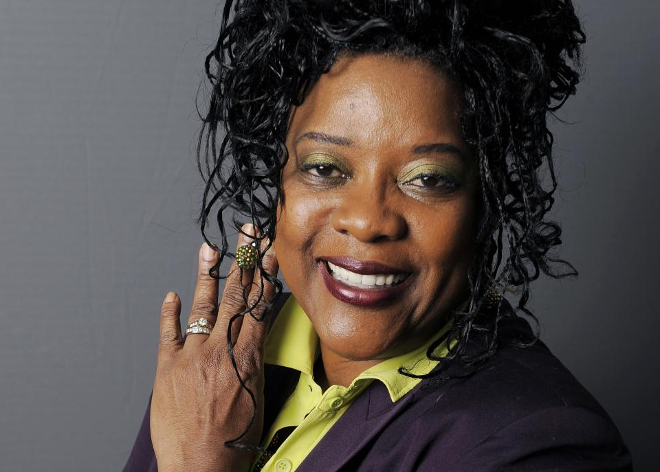 "FILE - In this Aug. 9, 2012 file photo, actress Loretta Devine poses for a portrait in Los Angeles. Devine is up for a second Emmy this weekend for her guest role on ""Grey's Anatomy,"" as the long-suffering wife of surgery chief Richard Webber. (Photo by Chris Pizzello/Invision/AP, File)"