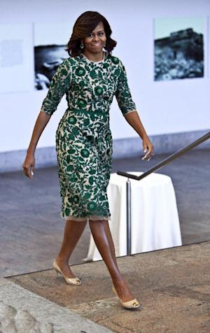 FILE - This May 5, 2014 file photo shows first lady…
