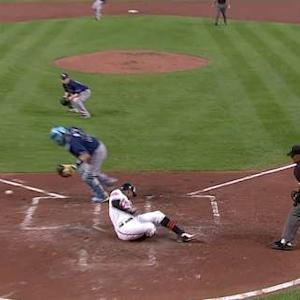 Orioles' double steal