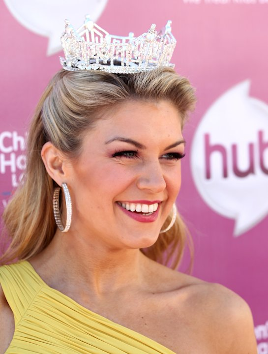 "Miss America 2013 Mallory Hagan attends theThe Hub TV Network's ""My Little Pony Friendship is Magic"" Coronation Concert at the Brentwood Theatre on Saturday, Feb. 9, 2013, in Los Angeles in support of"