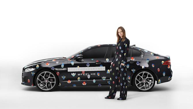 IMAGE DISTRIBUTED FOR JAGUAR - In this photo released on Monday, Sept. 22, 2014, ahead of Stella McCartney's Paris Fashion Week Show on the 29th of September, Jaguar has joined forces with the leading British designer for the next phase of the FEEL XE campaign as the roll-out of the new Jaguar XE continues. Both Stella and Jaguar represent the best in British design and have a shared commitment to modernity, performance, style and functionality and the FEEL XE Experience is an expression of this design philosophy. Following the FEEL XE Experience in Paris, Jaguar will announce details of its next FEEL XE project with British actor Idris Elba in the coming months. To learn more about the FEEL XE Experience, and see the cars on the streets of Paris on Monday 29 September ahead of the Motor Show, visit http://bit.ly/XESMC. (Jaguar via AP Images)