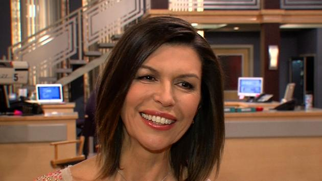 Finola Hughes speaks with Access Hollywood on the set of 'General Hospital,' January 2013  -- Access Hollywood