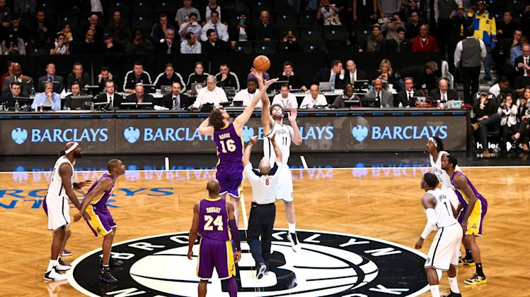 NBA: Los Angeles Lakers at Brooklyn Nets