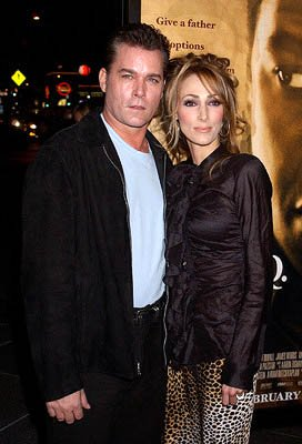 Premiere: Ray Liotta and Michelle Grace at the LA premiere for New Line's John Q - 1/7/2002
