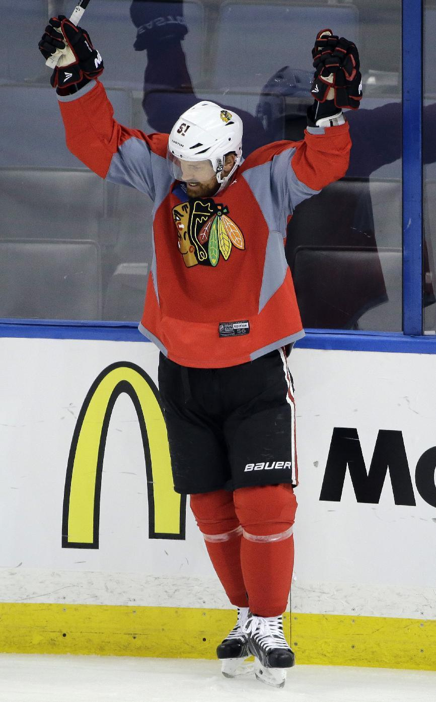 Blackhawks' Brad Richards gets chance for 2nd Stanley Cup