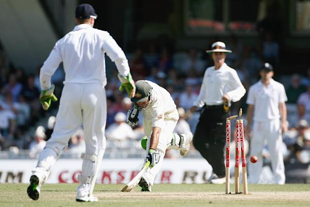 England v Australia - npower 5th Ashes Test: Day Four