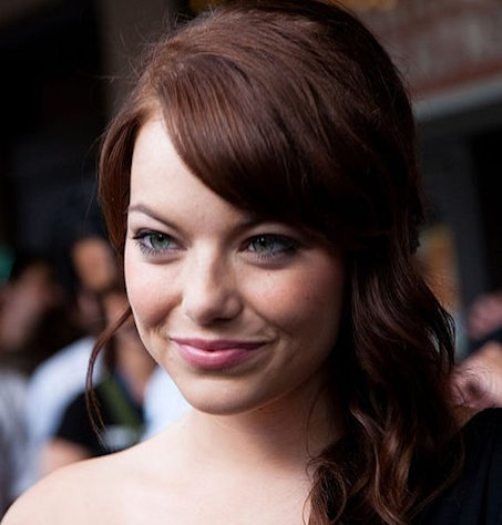 Emma Stone is not a natural redhead.