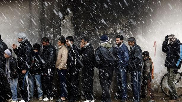 Weather Gives Syrians a Reprieve, Britain Closes Its Damascus Embassy