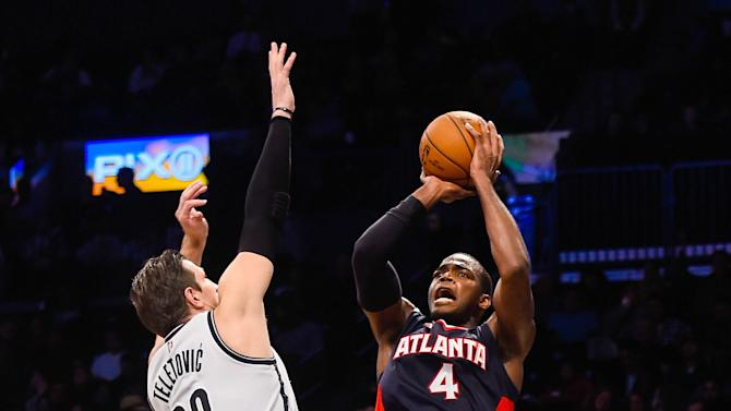 Hawks rout Nets 98-75 for 5th straight victory