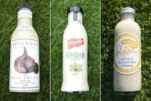 Best of three: Salad dressings