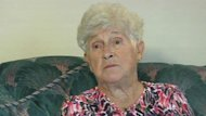 Mary Gural, 84, was bitten by a Rottweiler on Sunday.
