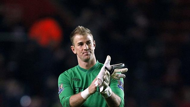 Joe Hart, pictured, has been praised by Barnsley counterpart Luke Steele