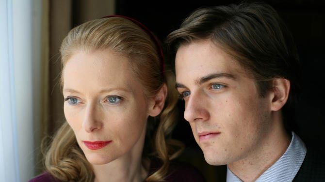 "FILE - In this film publicity file photo released by Magnolia Pictures, Tilda Swinton, left, and Mattia Zaccaro, are shown in a scene from, ""I am Love.""  (AP Photo/Magnolia Pictures, File)"
