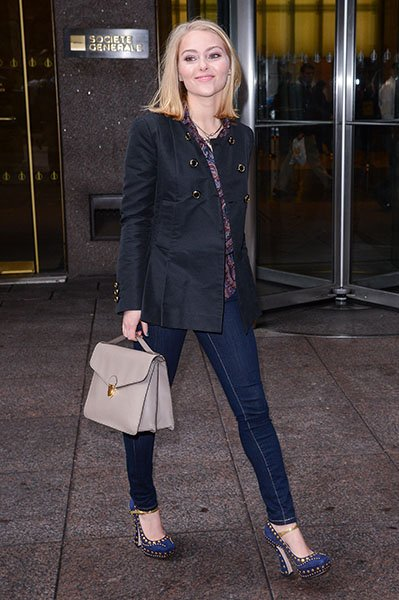 Leaving the Sirius XM Studios, January 2013