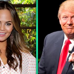 Chrissy Teigen Feuds With Donald Trump in Hilarious Twitter Battle
