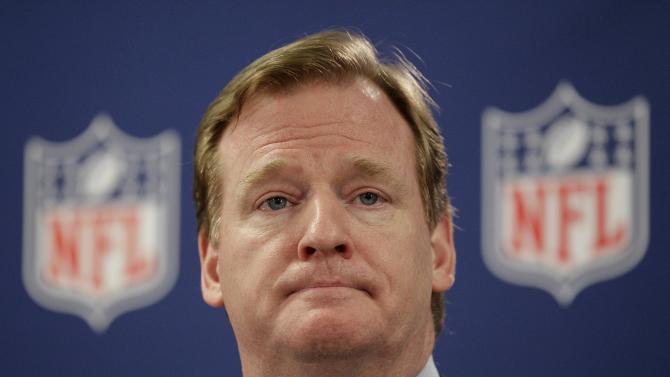 The biggest football enemy to fans in the Big Easy is NFL commissioner Roger Goodell. The Superdome will rock with boos for the commish, who suspended the Saints' beloved coach Sean Payton (among others) for all of last season for his role in the team's bounty scandal. (AP Photo/David Goldman, File)