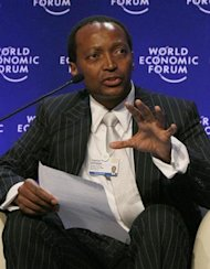 First black South African billionaire donates fortune to poor
