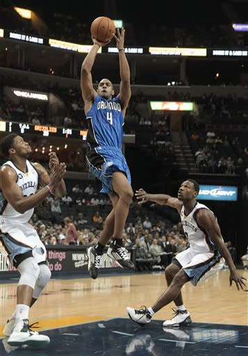 Gay scores 20 to lead Grizzlies over Magic 115-100