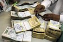 Rupee rises inside starting trade