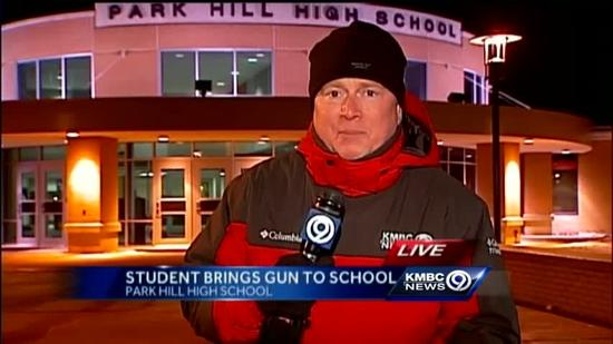 Park Hill High School student brings gun to school