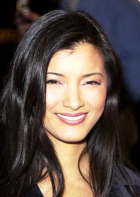 Kelly Hu at the Westwood premiere of Warner Brothers' Exit Wounds