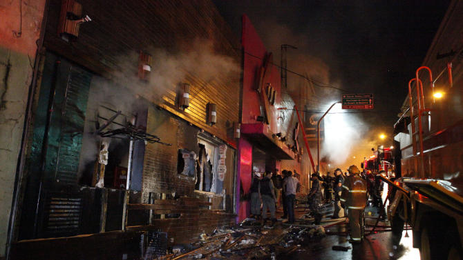 Little done in Brazil to improve safety after fire