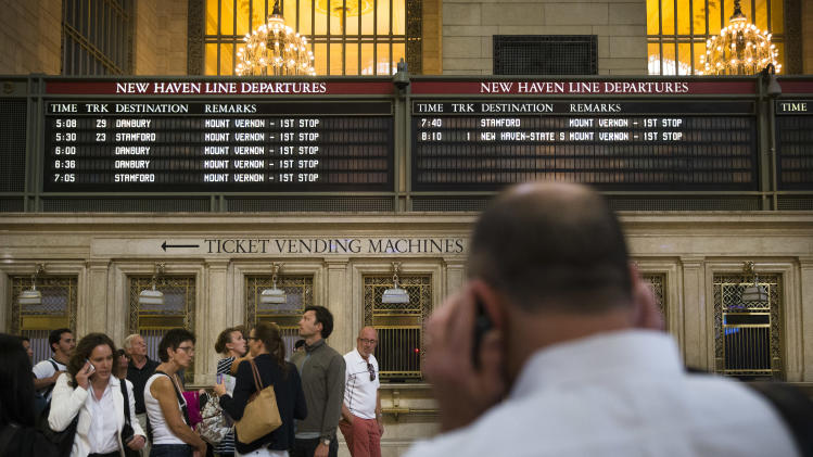 Frustration for Conn., NY rail commuters