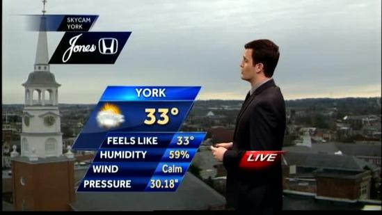 Weak storm system could drop some flurries