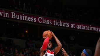 Wall's 27 points lead Wizards over Pistons 107-103